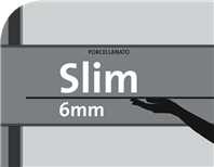 Porcellanato Slim 6mm