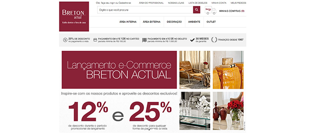 Breton Actual lança e-commerce