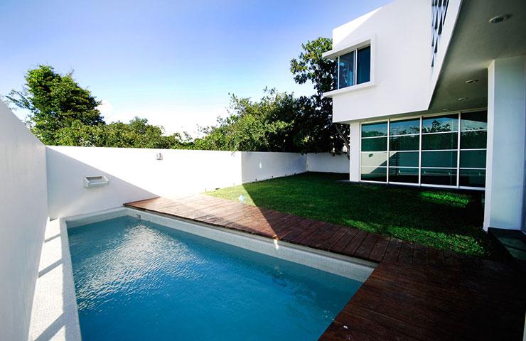 Revista kaza projetos keep calm and go to cancun for Piscine minimaliste