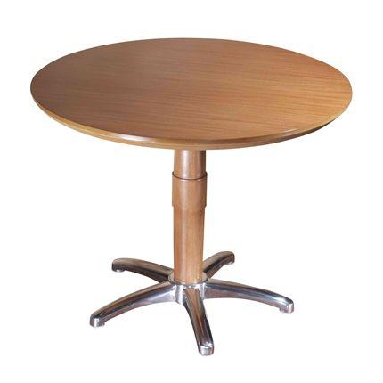 Tecto produto masotti mesa auxiliar redonda com p de alum nio - Mesa auxiliar redonda ...