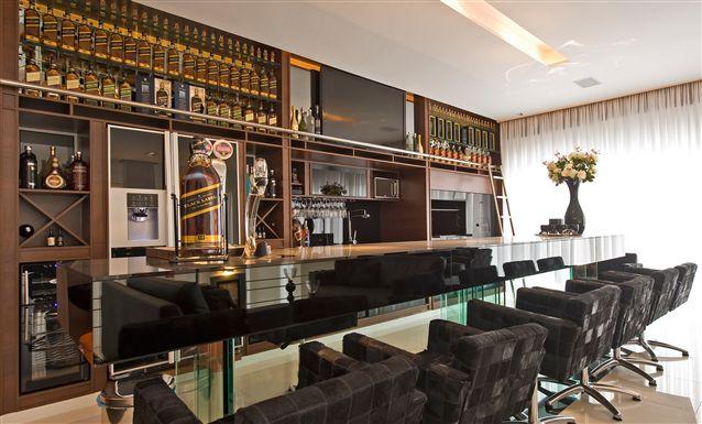 Tecto projetos residencial casa pinhais paran bar for Modelos de bares rusticos para casas