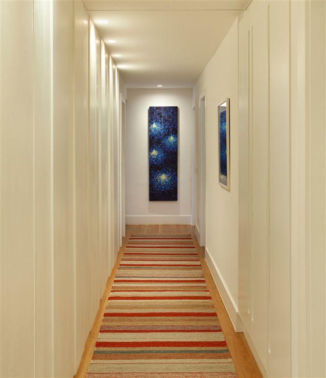 Tecto projetos residencial apartamento rio de for Colores de moda para pintar pasillos